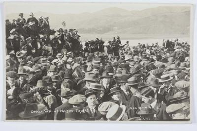 Departure of Nelson Troops Aug 18 1914