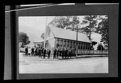 Prof. Sir E Rutherford Visits His Old School at Havelock 29-10-25
