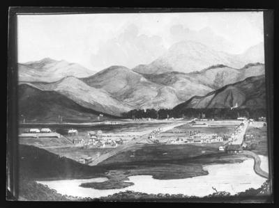 Nelson, early sketch