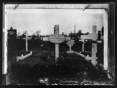 Grave of Sgt. H W Cannington died 5 July 1916
