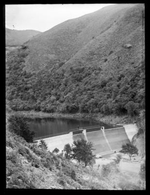 Dam, thought to be the Brook Reservoir