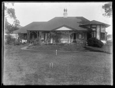Unnamed house, possibly Hudson house