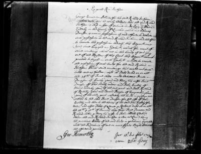 Copy of legal document