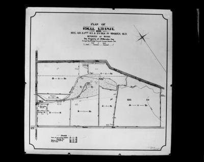 Plan of Isell [sic] Estate