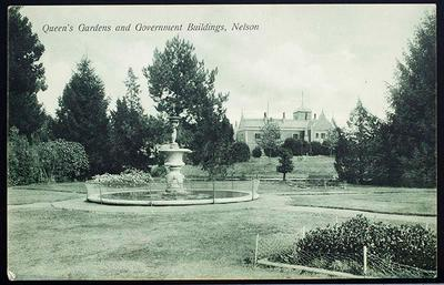 Queen's Gardens and Government Building, Nelson