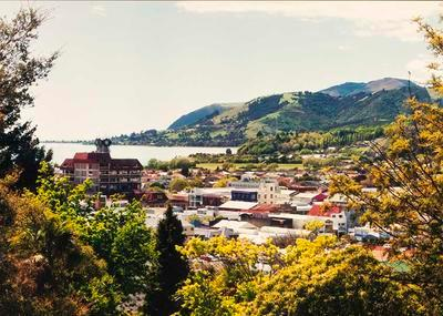 View over Nelson