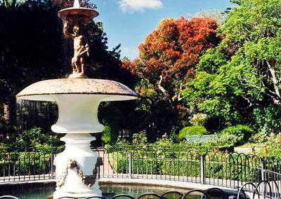 Priapos or Cupid Fountain, Queens Gardens