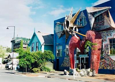 Architecture on New Street, Nelson