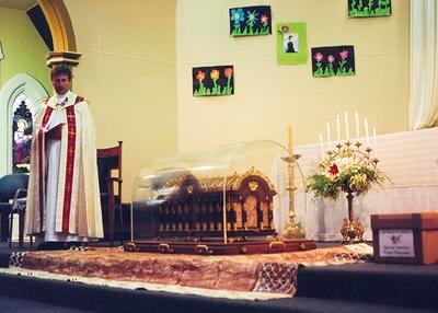 St. Therese de Lisieux Relics