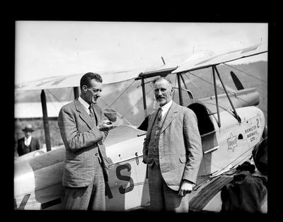 Nelson Aero Club, Cook Strait Airways, gp 2, Tom Newman & Mac McGregor