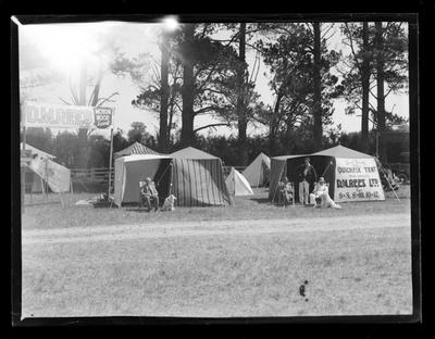 D.M. Rees LTD, tent display