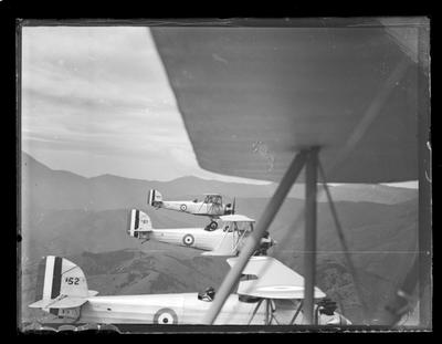 Nelson Aero Club, planes in flight