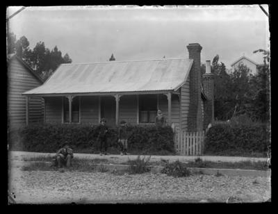 Bartel's home, Collingwood Street & his mother