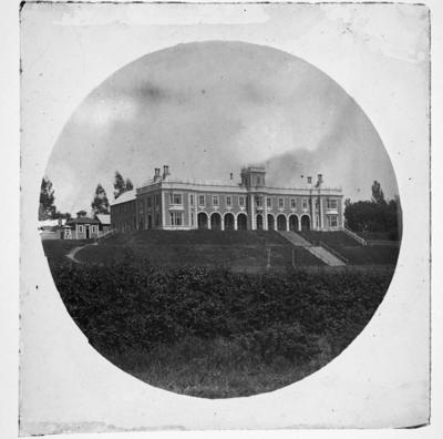 Nelson College, 1st building