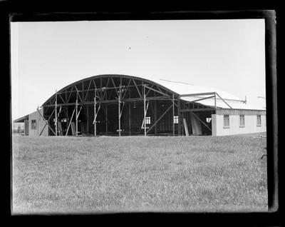 Cook Strait Airways, hangar, Nelson