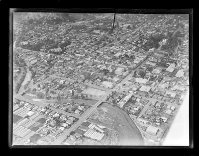 Nelson City, aerial photography
