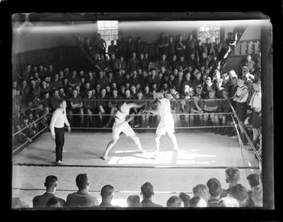Nelson College, boxing, large group