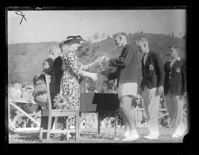 Nelson College Sports Day 1949