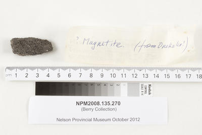 Specimen, geological; NPM2008.135.270