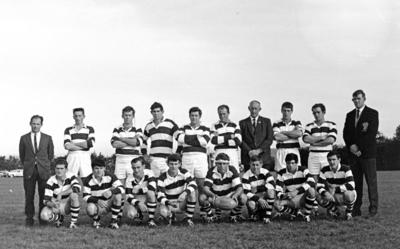 Golden Bay - Motueka team, 1968