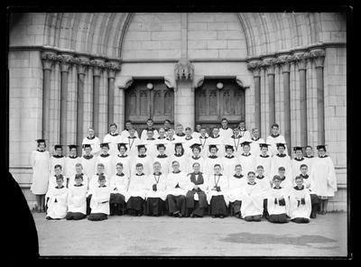 Christchurch Cathedral, Nelson Choir, 1952