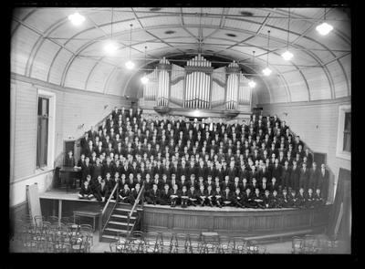 Nelson College, College Choir, 1955