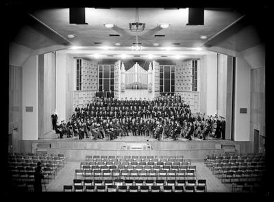 Nelson College, Orchestra, 1956