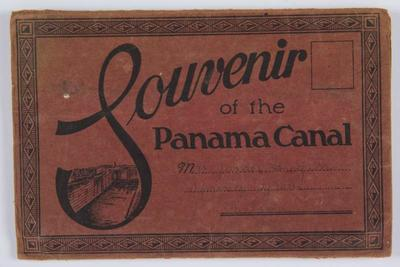Souvenir of the Panama Canal : addressed to Mrs James Hagan, Spring Grove, Nelson [postcard]