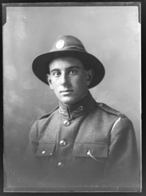 Private Willie Stuart Gentry Buckman (b. 1898)