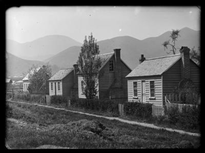 Appo Hocton houses, Hastings Street, Lower Washington Valley.