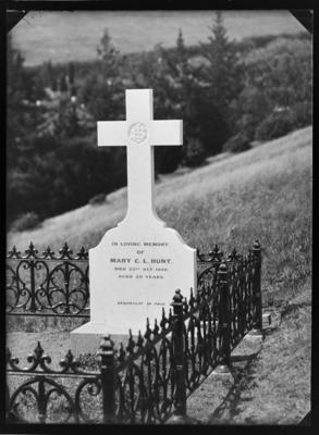 Tombstone of Mary Catherine Laura Hunt