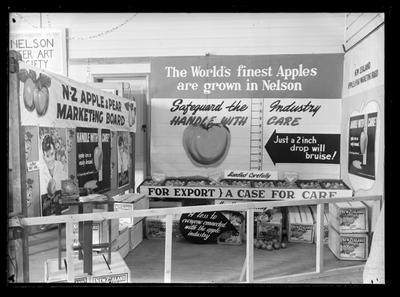 Apple & Pear Board, Industries Fair, Nelson, 1955
