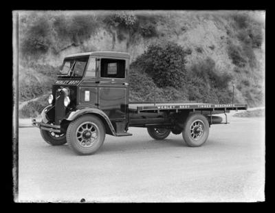 Webley Bros Timber Merchants truck