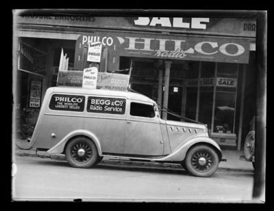 Begg & Co, Willys Delivery Van