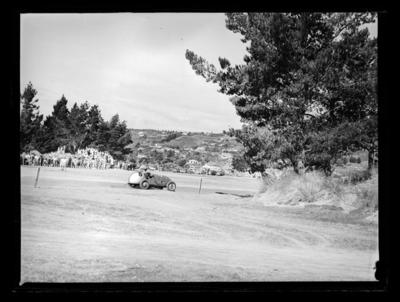 Car races at the Tahunanui back beach