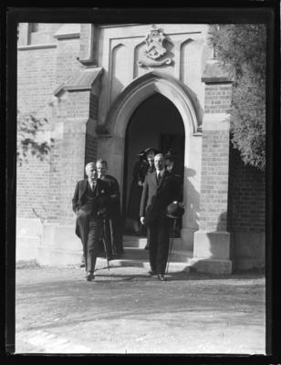 Nelson College, Lord Galway's visit 1936
