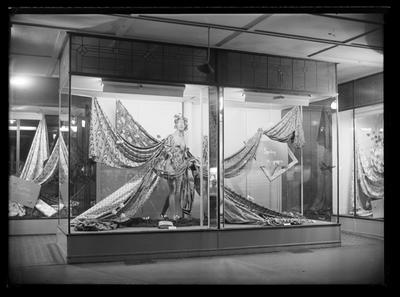 Trathens Window Display 1955
