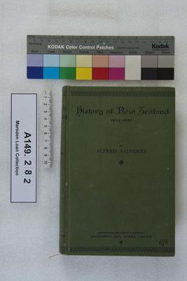 History of New Zealand...[Vol. 1]