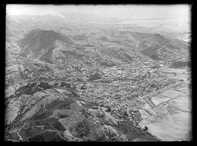 Nelson City Aerial View - 1957