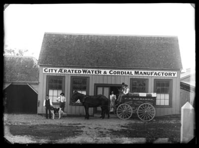 P S Edwards, PS. City Aerated Water & Cordial Manufactory