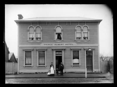 Andrew Daly's Prince Albert Hotel, Nelson; 1891-1892;