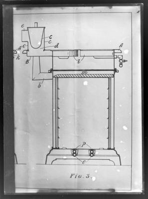 Wilson, gas stove diagram