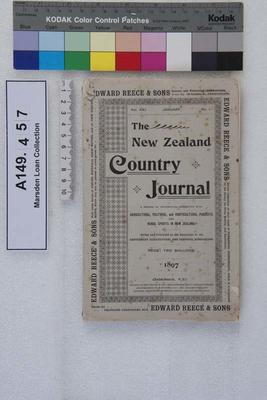The New Zealand country journal. Vol. 21...1897; 1897; A149.457
