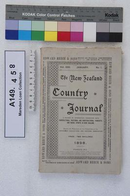 The New Zealand country journal. Vol. 22...1898; 1898; A149.458