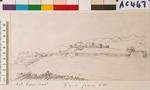Fort Church Hill from southwest, Oct. 9, 1843