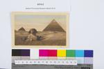 Egypt [postcard] : pyramids and Sphinx of Giza : addressed to Mr Field from N Widdowson