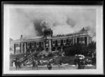 Burning of Boys College. Nelson. Dec.7.1904.