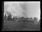 Nelson College on fire