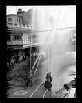 Nelson Fire Board, Fire demonstration, 1936