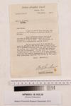 Letter dated 7 March, 1946, to Catherine Ovens regarding her employment